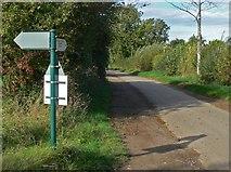 SK8707 : Hambleton Road in Egleton by Mat Fascione