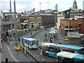 SJ3490 : Queen Square Bus Station by Alan Murray-Rust
