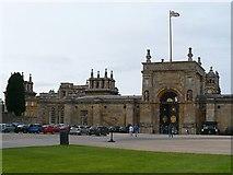 SP4416 : East Gate, Blenheim Palace by Robin Drayton