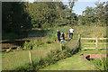 SJ3326 : Fishing by Aston Locks by Stephen McKay