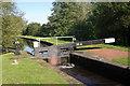 SJ3326 : Aston Middle Lock by Stephen McKay