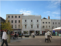 SO5140 : Shops, High Town, Hereford by Pauline E