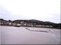 SD4578 : Arnside Pier viewed from viaduct by Raymond Knapman