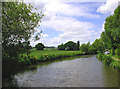 SK1803 : Birmingham and Fazeley Canal north of Bonehill, Staffordshire by Roger  Kidd