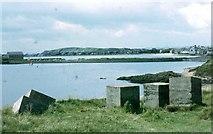 NT4999 : Old coastal defences at Elie Ness by Sarah Charlesworth