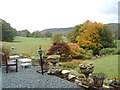 SD3695 : Gardens of Sawrey House Country Hotel in October by Darrin Antrobus