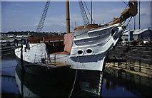 TQ7569 : HMS Gannet, Chatham Historic Dockyard by Chris Allen