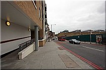 TQ3480 : Wapping Lane from The Highway, E1 by John Salmon
