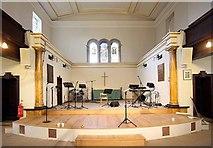 TQ3580 : St Paul's Church, The Highway, London E1 - Chancel by John Salmon