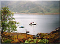 NG9307 : Loch Hourn at Toirr a' Choit by Peter Bond