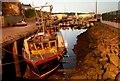 "X6999 : The ""Vital Spark"" at Dunmore East by Albert Bridge"