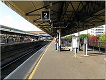 TQ2775 : Platforms 1 and 2, Clapham Junction by Dr Neil Clifton