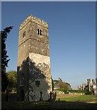 SX7962 : Church tower, Dartington by Derek Harper