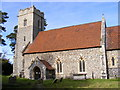 TM3669 : St.Peter's Church, Sibton by Adrian Cable