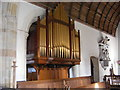 TM3669 : The Organ in St.Peter's Church,Sibton by Adrian Cable