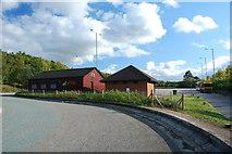 TL8663 : Lorry Park off Rougham Hill by Greg Aspland