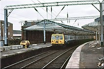 NS2982 : Helensburgh Central station by Peter Whatley