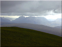 NH1462 : View west from Fionn Bheinn by Nigel Brown