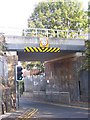 TQ7868 : Railway Bridge over Woodlands Road by David Anstiss