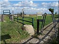 TQ7968 : Entrance to Riverside Country Park on coast by David Anstiss