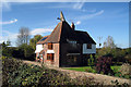 TQ8035 : Farningham Oast, Golford Road, Benenden, Kent by Oast House Archive