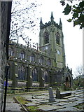 SD9828 : Church of St Thomas à Becket & St Thomas the Apostle, Heptonstall by Alexander P Kapp