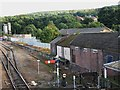 NY9464 : Sidings east of Hexham Station by Mike Quinn