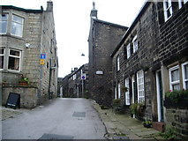 SD9828 : Northgate, Heptonstall by Alexander P Kapp