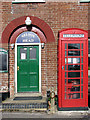 TG4622 : Old red telephone box by Evelyn Simak