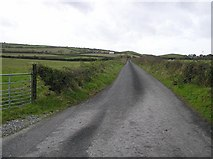 C3215 : Road at Drummay by Kenneth  Allen