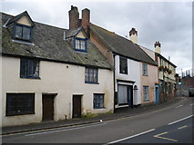 SX9091 : Dilapidated cottages, Cowick Street, St Thomas by Roger Cornfoot