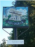 TQ9871 : Eastchurch Village Sign by David Anstiss