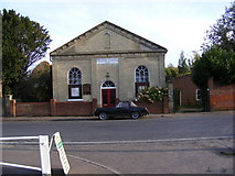 TM2850 : Melton Methodist Chapel by Adrian Cable