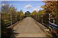 TQ4863 : Footbridge over A21 by Ian Capper