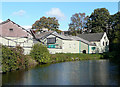SO8480 : Industrial Units by the canal, Cookley, Worcestershire by Roger  Kidd