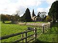 SO7433 : Village church, Bromesberrow by Pauline E
