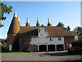 TQ7341 : Oast House at Tanner Farm, Goudhurst Road, Marden, Kent by Oast House Archive