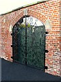J5080 : Gate, Castle Park walled garden by Rossographer