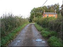 SK3750 : Heage - Bond Lane by Alan Heardman