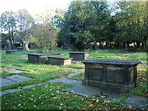 SE1321 : The Anglican and Methodist Church of St Matthew, Rastrick, Graveyard by Alexander P Kapp