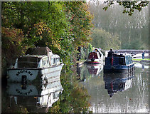 SO8688 : Approaching Greensforge Lock near Swindon, Staffordshire by Roger  Kidd