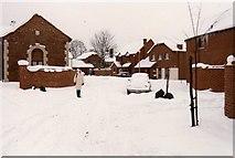 TQ6349 : Kenward Court, Hadlow, 1987 by David Robinson