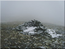 NY3228 : Cairn on Atkinson Pike by Michael Graham