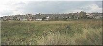 SH3568 : The village of 'Berffro from the sand dunes of Tywyn 'Berffro by Eric Jones