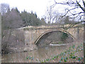 NU1913 : Bridge over the River Aln by Stephen Craven
