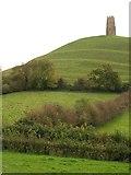 ST5138 : Glastonbury Tor by Derek Harper