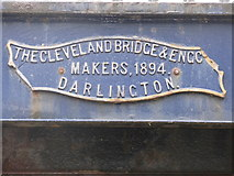 TA1280 : Bridge makers sign by Dave Pickersgill
