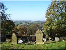 SJ9054 : View From Churchyard, St. Anne, Brown Edge by Geoff Pick