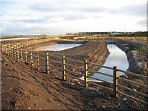 SD4260 : Drainage works for the new road by Ian Taylor