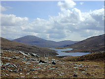 NH2273 : View towards Loch Sgeireach by Nigel Brown